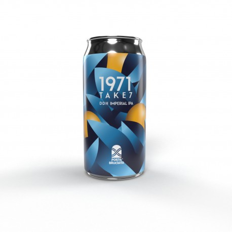 1971 take 7, DDH IMPERIAL IPA, 40 cl.